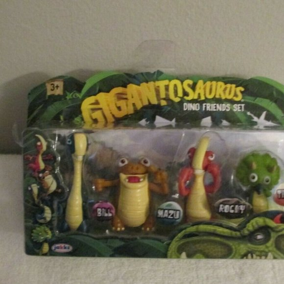 Gigantosaurus Dino Friends Set. 4 Action Figures